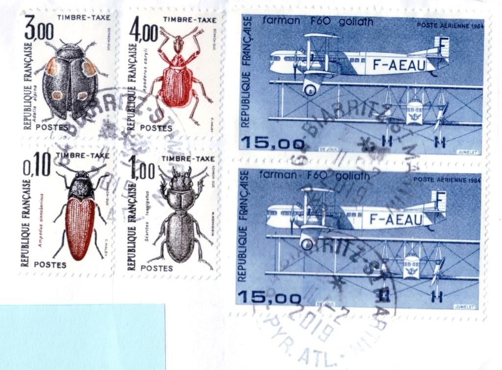 timbres taxe hors des clous. Sans_t64