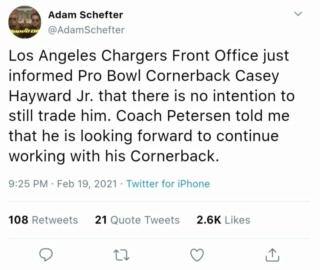 Bolt up News- LA Chargers Whatsa19