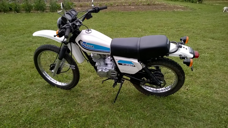 Restauration d'une xls125 171010