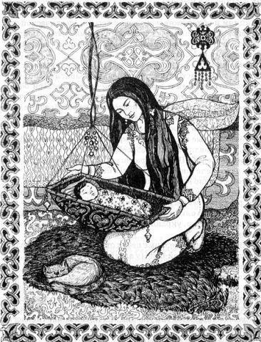 Роль пуповины в алтайской семье 0j-kdo10