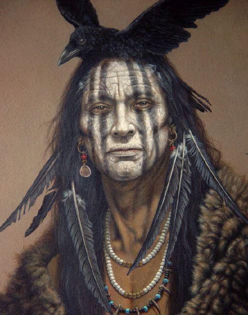 ТЫ НАХОДИШЬ СИЛУ  (индейский шаманизм) Tfxesx10