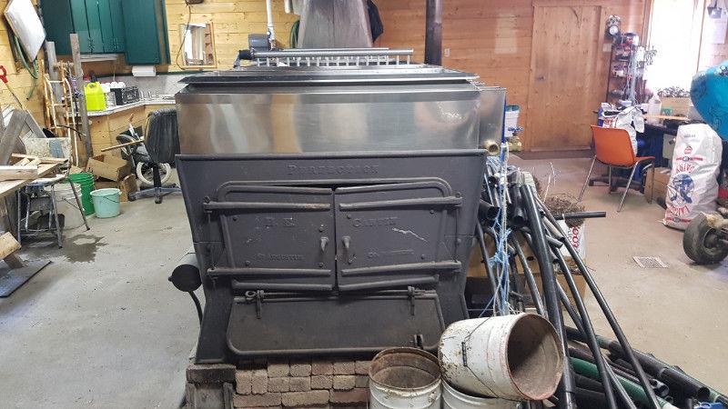 Évaporateur 4x14 au bois et huile et séparateur _5911