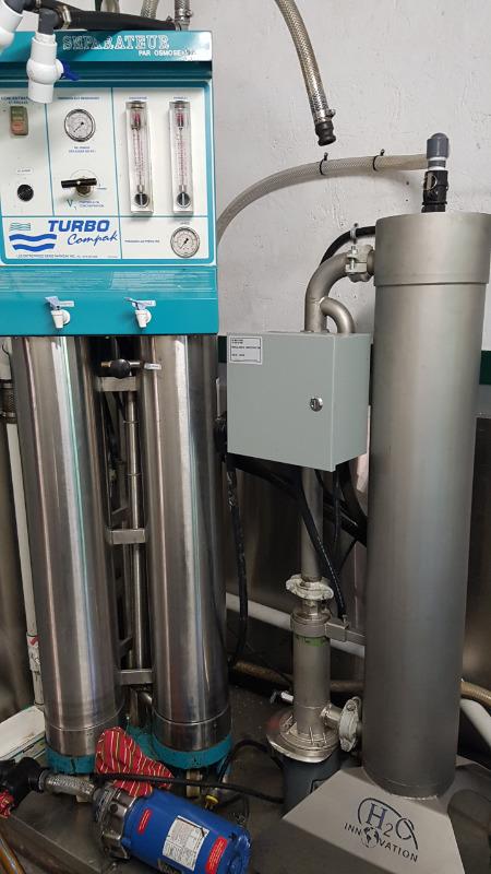 Évaporateur 4x14 au bois et huile et séparateur Separa10