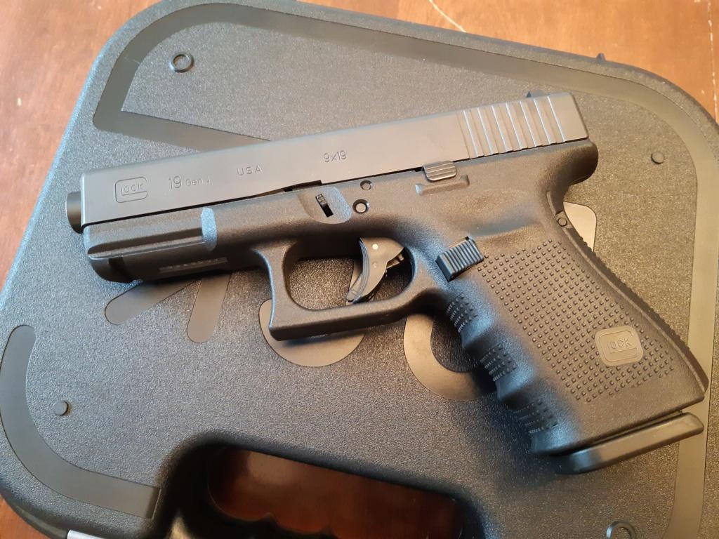Glock 19 gen4 version pour le Canada 20180912