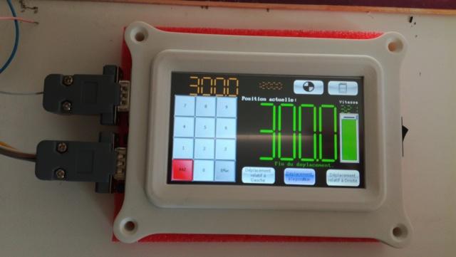 module de contrôle pour moteur pas à pas Lonu10