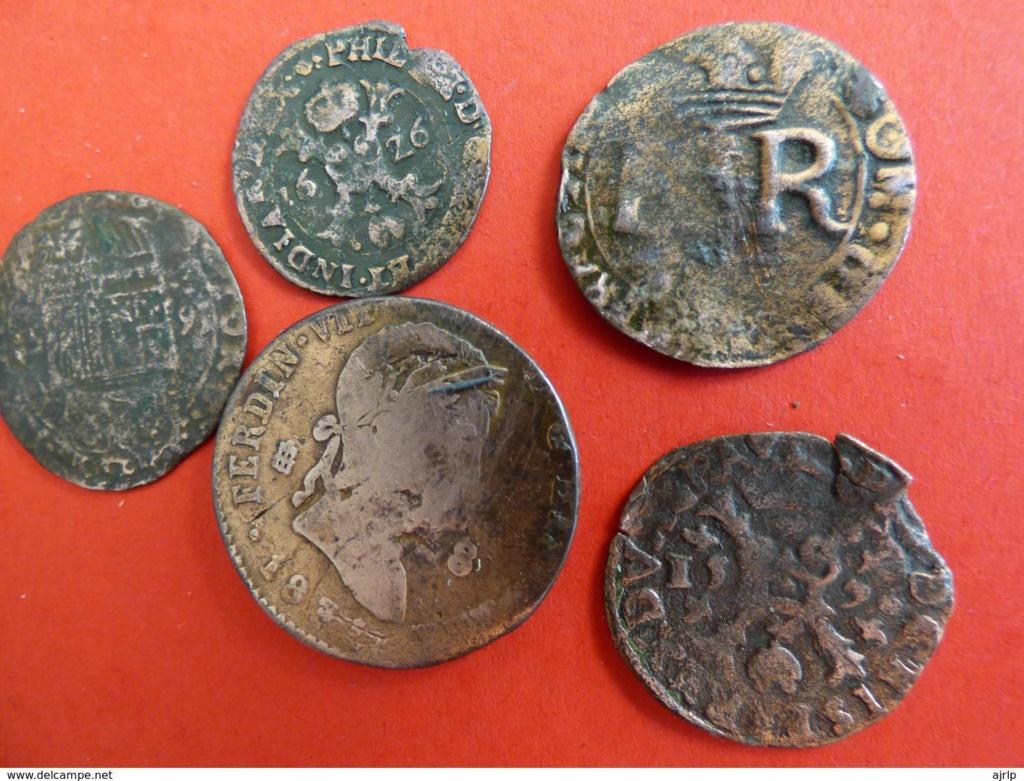 1 Liard a nombre de Fernando de Aspremont-Lynden, 1636-1665, Lieja.  Lote_110