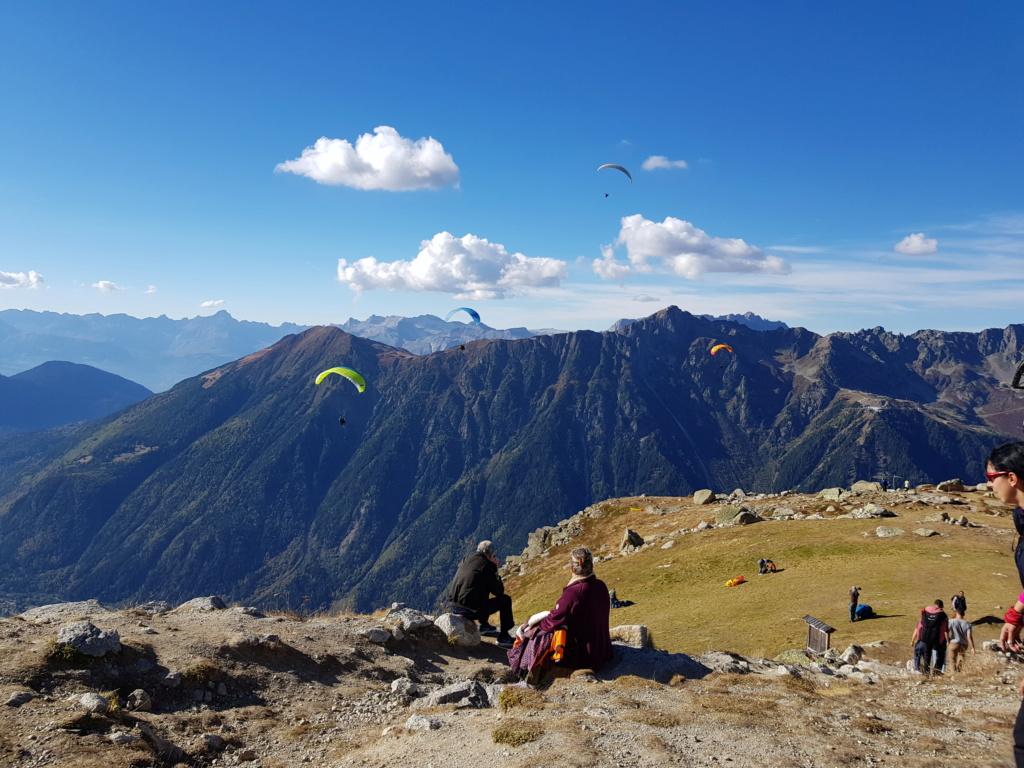 Sortie Alpes Vols Randdo 20181016