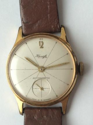montre vintage allemande Kienzle 6327df10