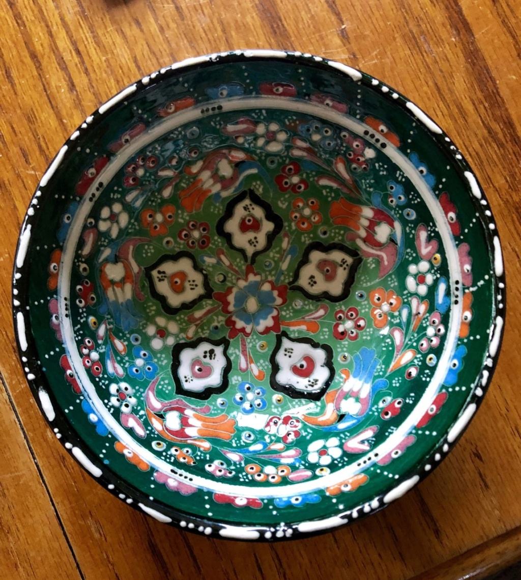 Hand made Pottery Bowl - Turkey  B210