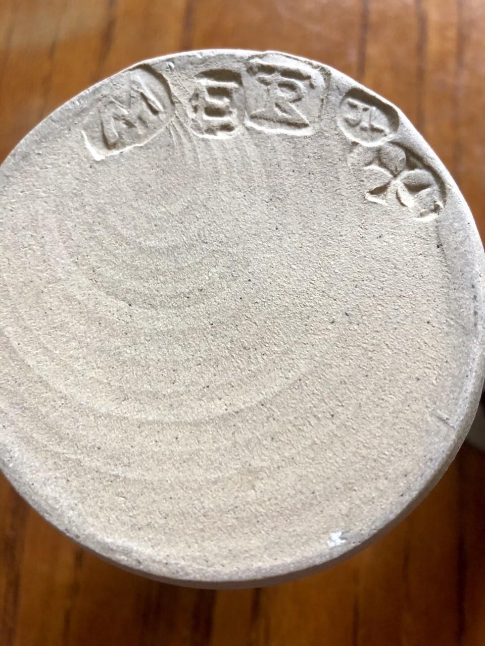 Jeremy Leach vase stamps L110