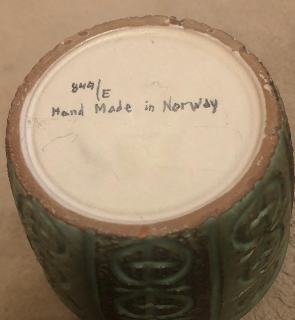 norwegian Handmade vessel V413