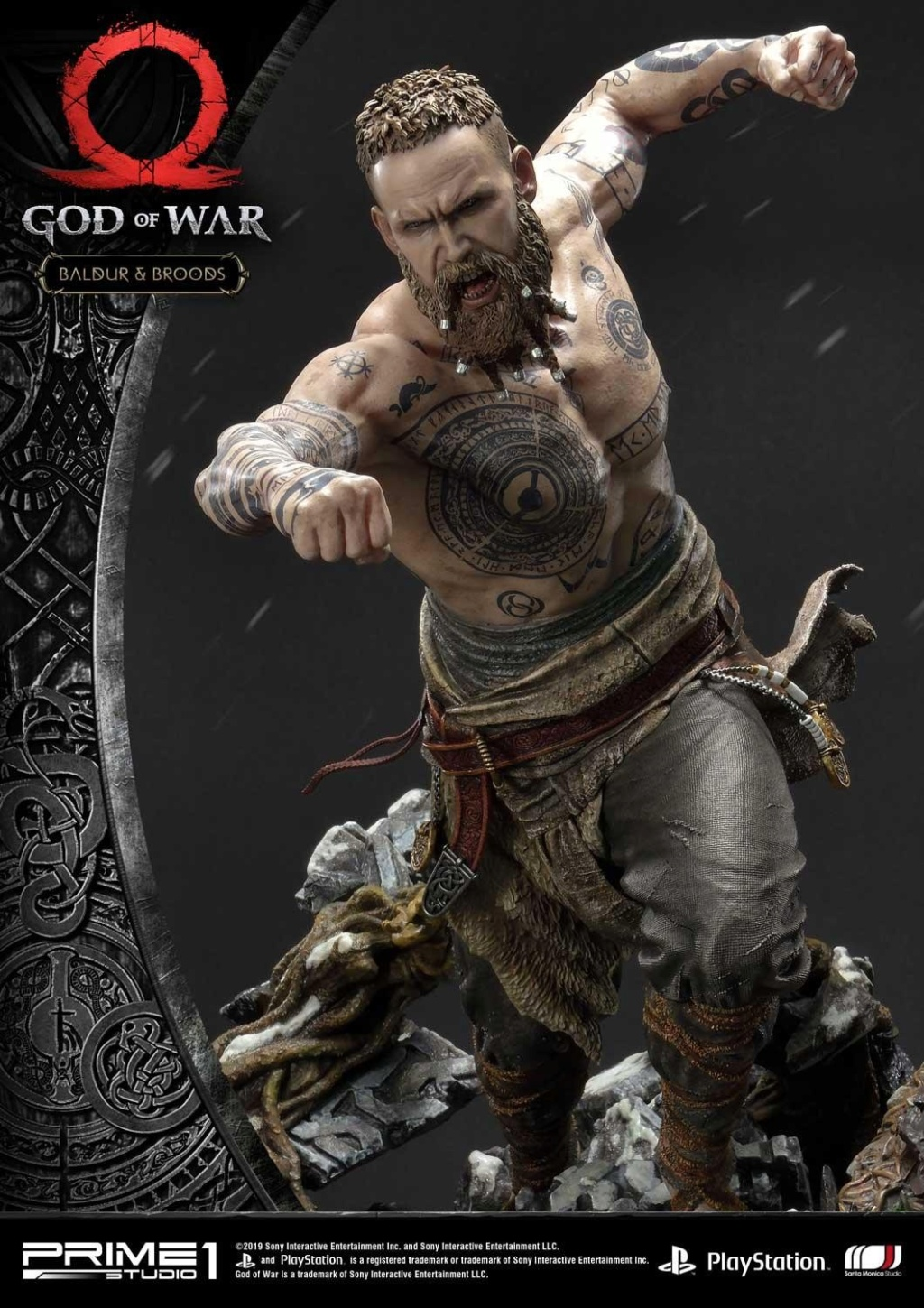 GOD OF WAR - BALDUR STATUE 1/4 Upmgow23