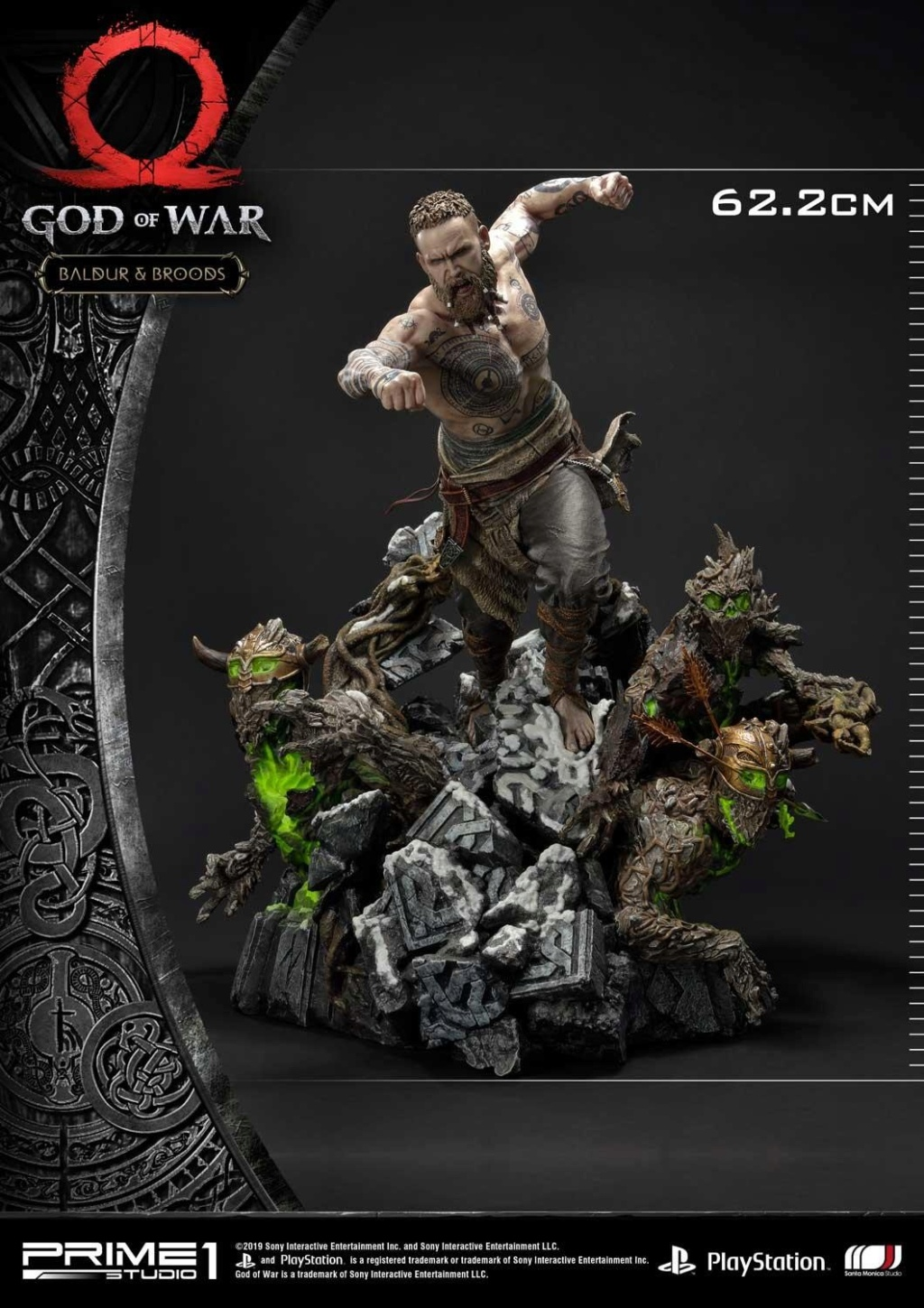 GOD OF WAR - BALDUR STATUE 1/4 Upmgow24