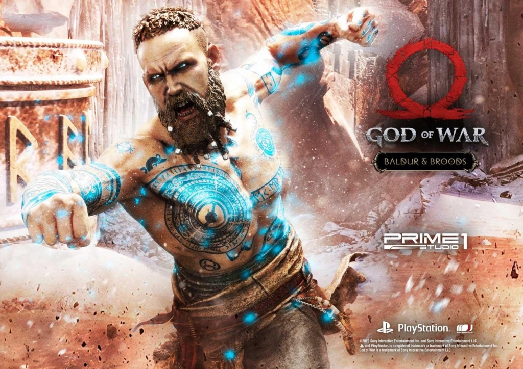 GOD OF WAR - BALDUR STATUE 1/4 Upmgow26