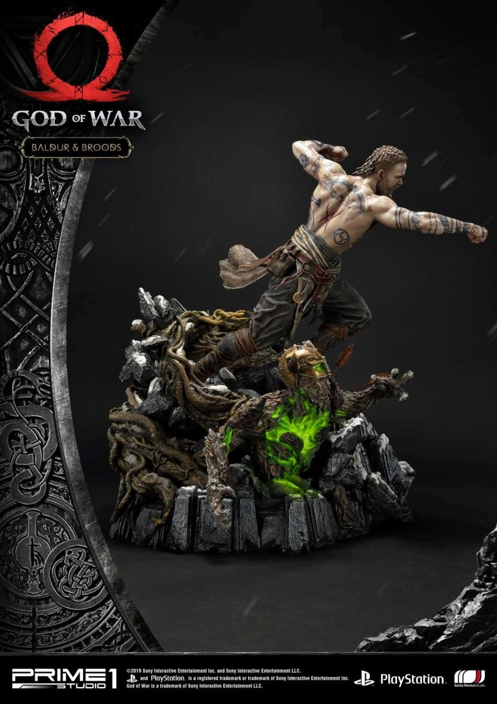 GOD OF WAR - BALDUR STATUE 1/4 Upmgow27