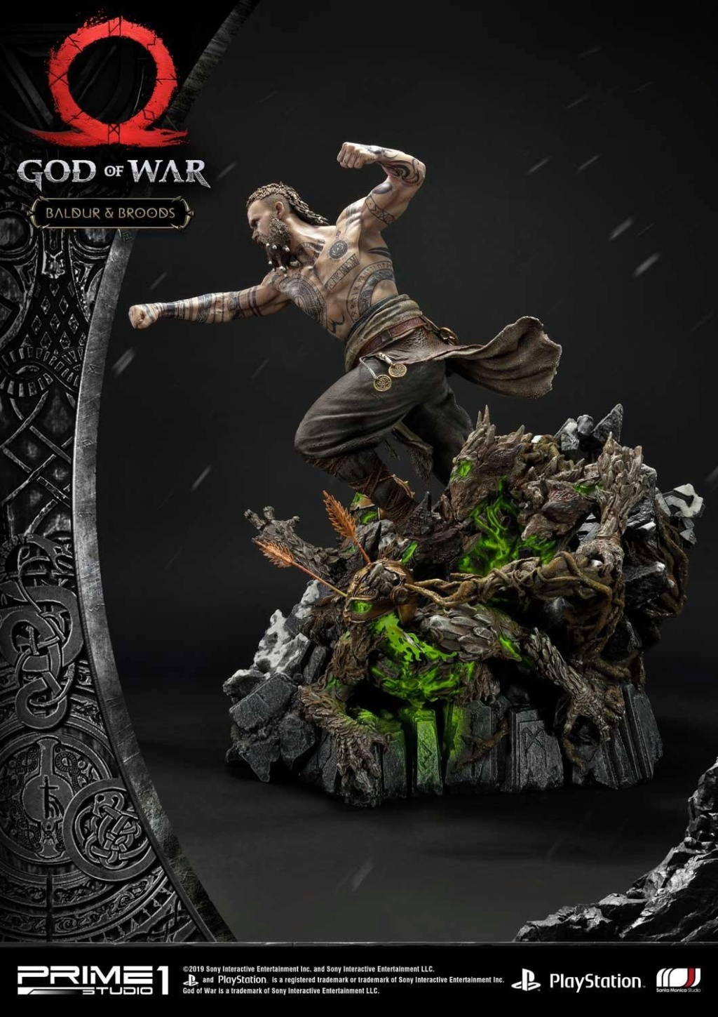 GOD OF WAR - BALDUR STATUE 1/4 Upmgow28