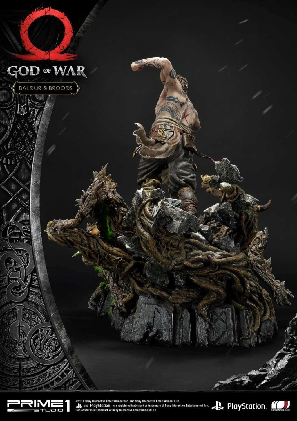 GOD OF WAR - BALDUR STATUE 1/4 Upmgow29