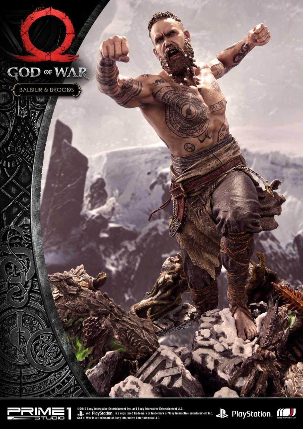 GOD OF WAR - BALDUR STATUE 1/4 Upmgow30