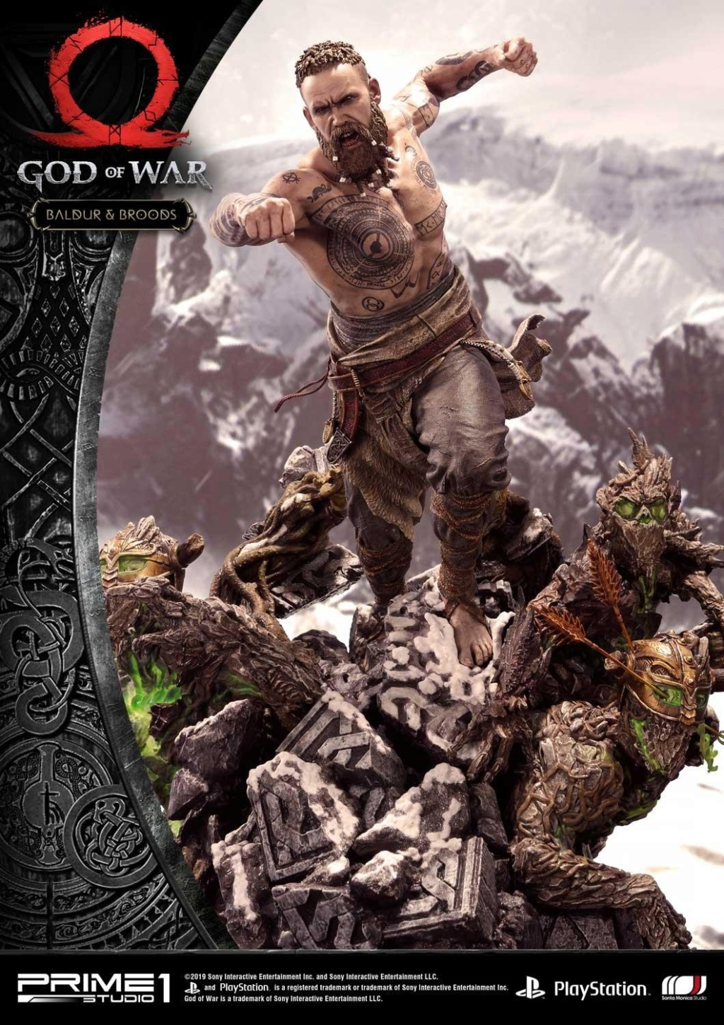 GOD OF WAR - BALDUR STATUE 1/4 Upmgow32