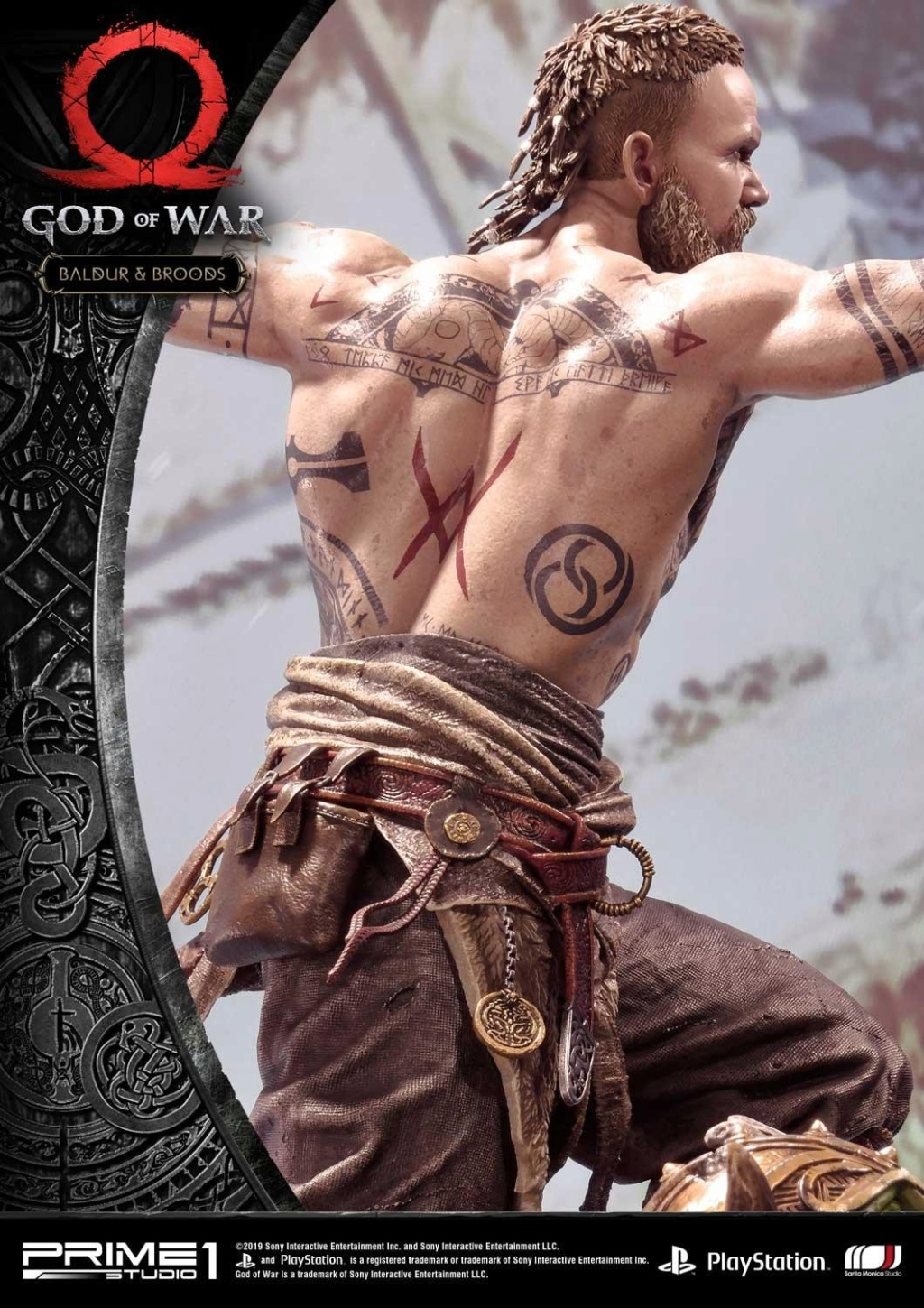 GOD OF WAR - BALDUR STATUE 1/4 Upmgow33