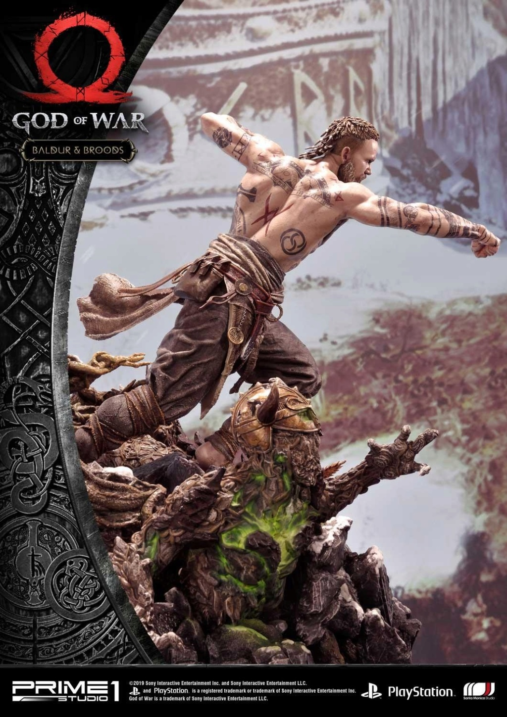 GOD OF WAR - BALDUR STATUE 1/4 Upmgow34