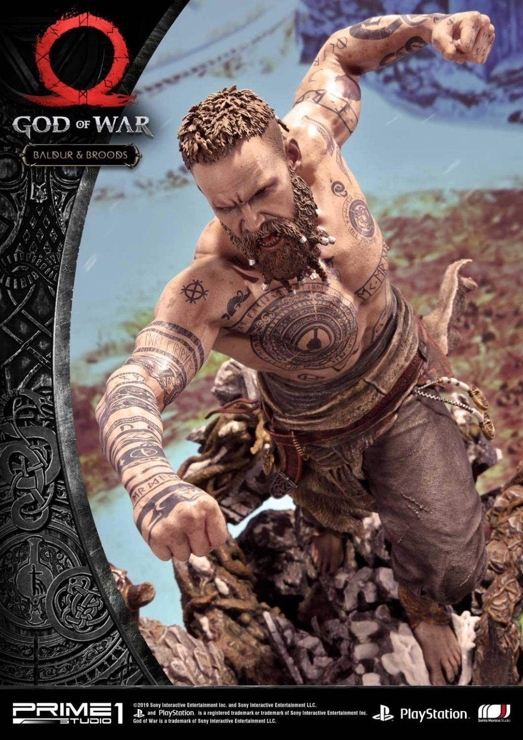 GOD OF WAR - BALDUR STATUE 1/4 Upmgow35