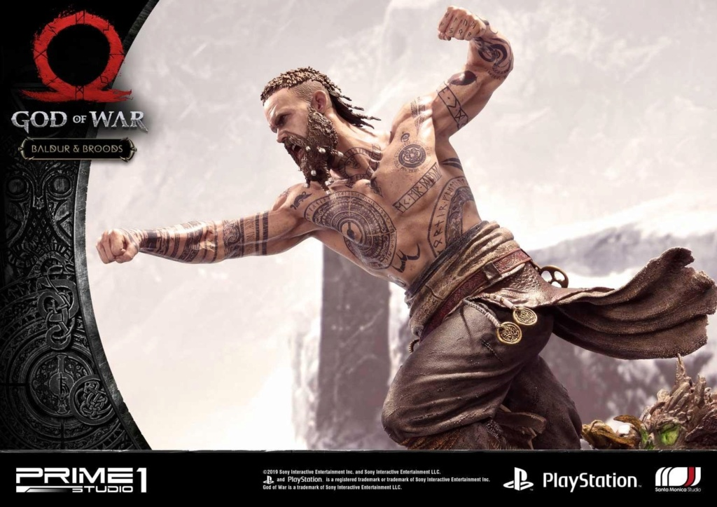 GOD OF WAR - BALDUR STATUE 1/4 Upmgow37