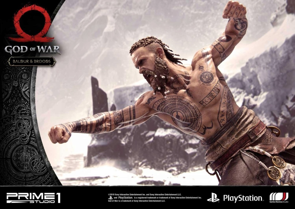 GOD OF WAR - BALDUR STATUE 1/4 Upmgow38