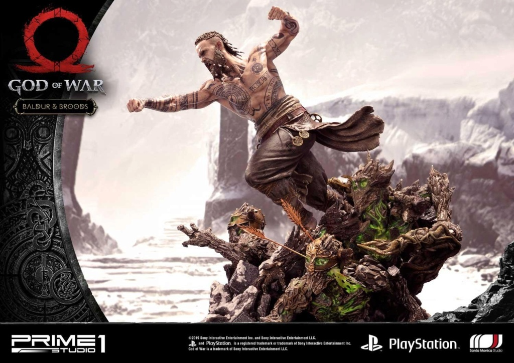 GOD OF WAR - BALDUR STATUE 1/4 Upmgow39