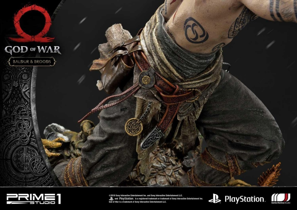 GOD OF WAR - BALDUR STATUE 1/4 Upmgow40