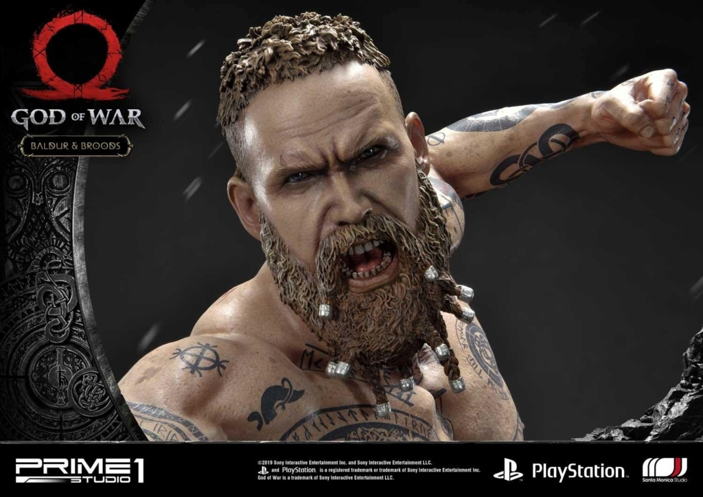 GOD OF WAR - BALDUR STATUE 1/4 Upmgow42