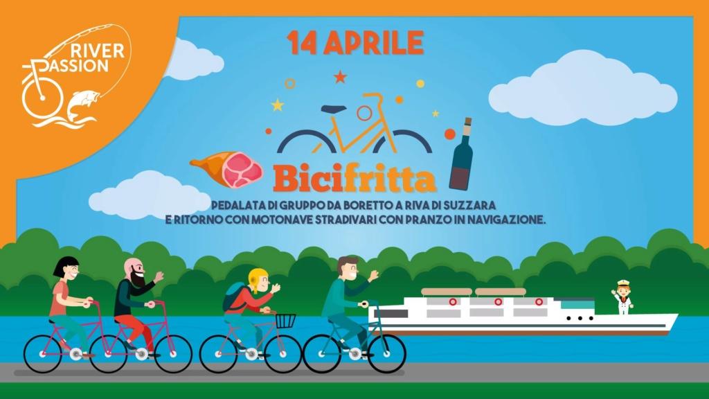 Bicifritta - Pedalata e ritorno con motonave per pranzo a bordo - 14 aprile 2019 Bicifr10