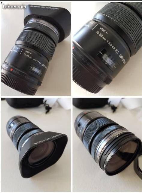 [A vendre] objectif M-ZUIKO 12-50 MM F/3,5-6,3 Zuiko210