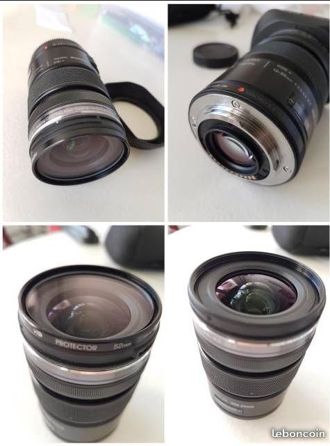 [A vendre] objectif M-ZUIKO 12-50 MM F/3,5-6,3 Zuiko310