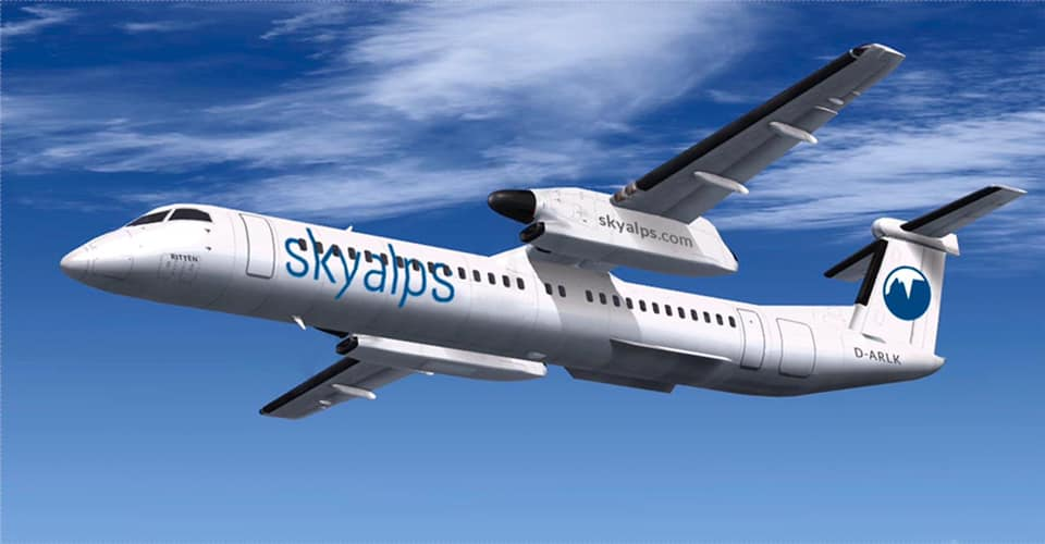 Nuova compagnia aerea italiana: SkyAlps Livrea10