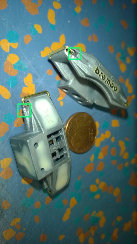 Pocher F40 1:8 Scale mit Autograph Trans-Kit geb. von terrible4130 Bremss10