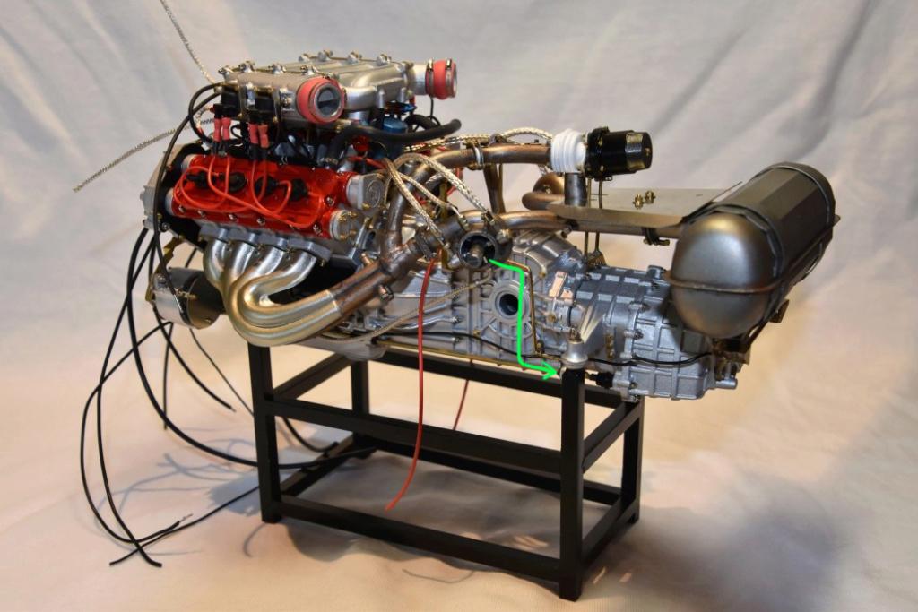 Pocher F40 1:8 Scale mit Autograph Trans-Kit geb. von terrible4130 Motor_10