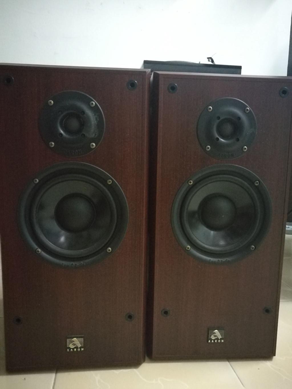 aaron ats-2 speakers  made in Australia                          Img_2010