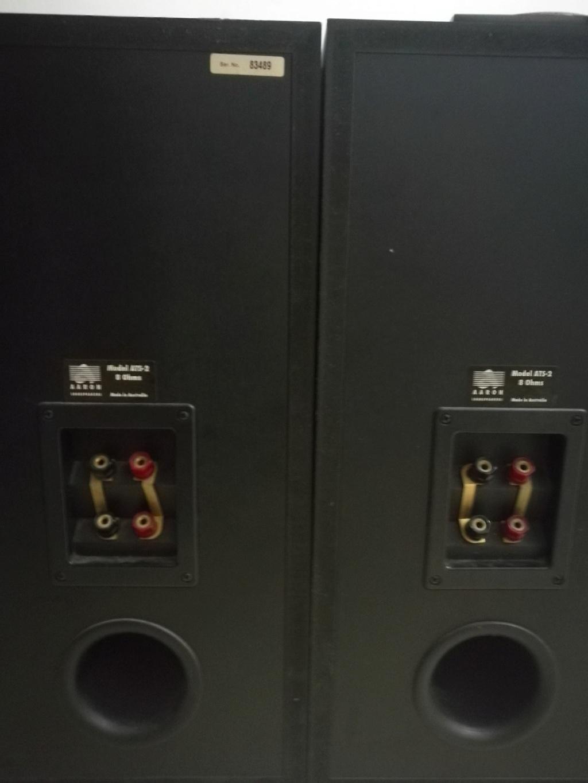 aaron ats-2 speakers  made in Australia                          Img_2012