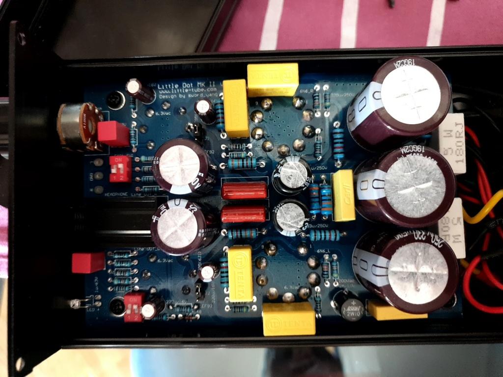 tensione sui condensatori troppo alta? C54a3410