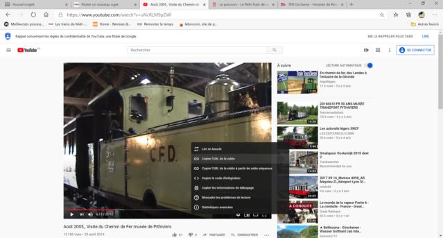 Comment poster une vidéo de Youtube sur le site  Select10