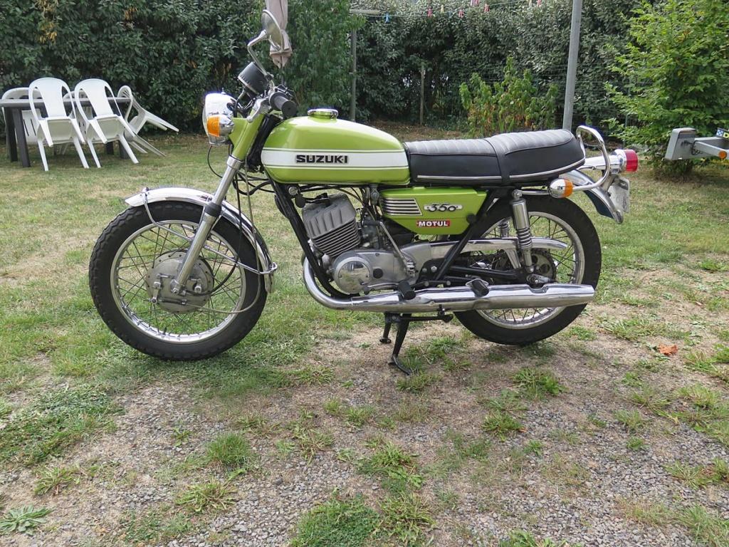 [VENDS] Je me sépare de ma Suzuki T350 R de 1971 Suzie-12