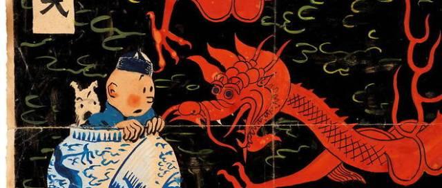 Un dessin de Tintin et Milou adjugé 500.000 euros 21190810