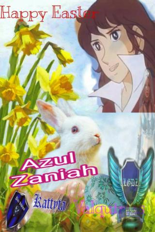 FEL***LEGENDARIAS GUERRERAS DEL ZAFIRO***  Entrega de  firmitas de  Pascua  Cupace25
