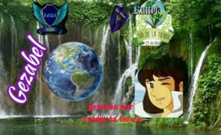⚔⚔⚔⚔**LEGENDARIAS GUERRERAS DEL ZAFIRO**⚔⚔⚔⚔  LANZAMIENTO de  firmita  del  Día de la Tierra a  Cupace29