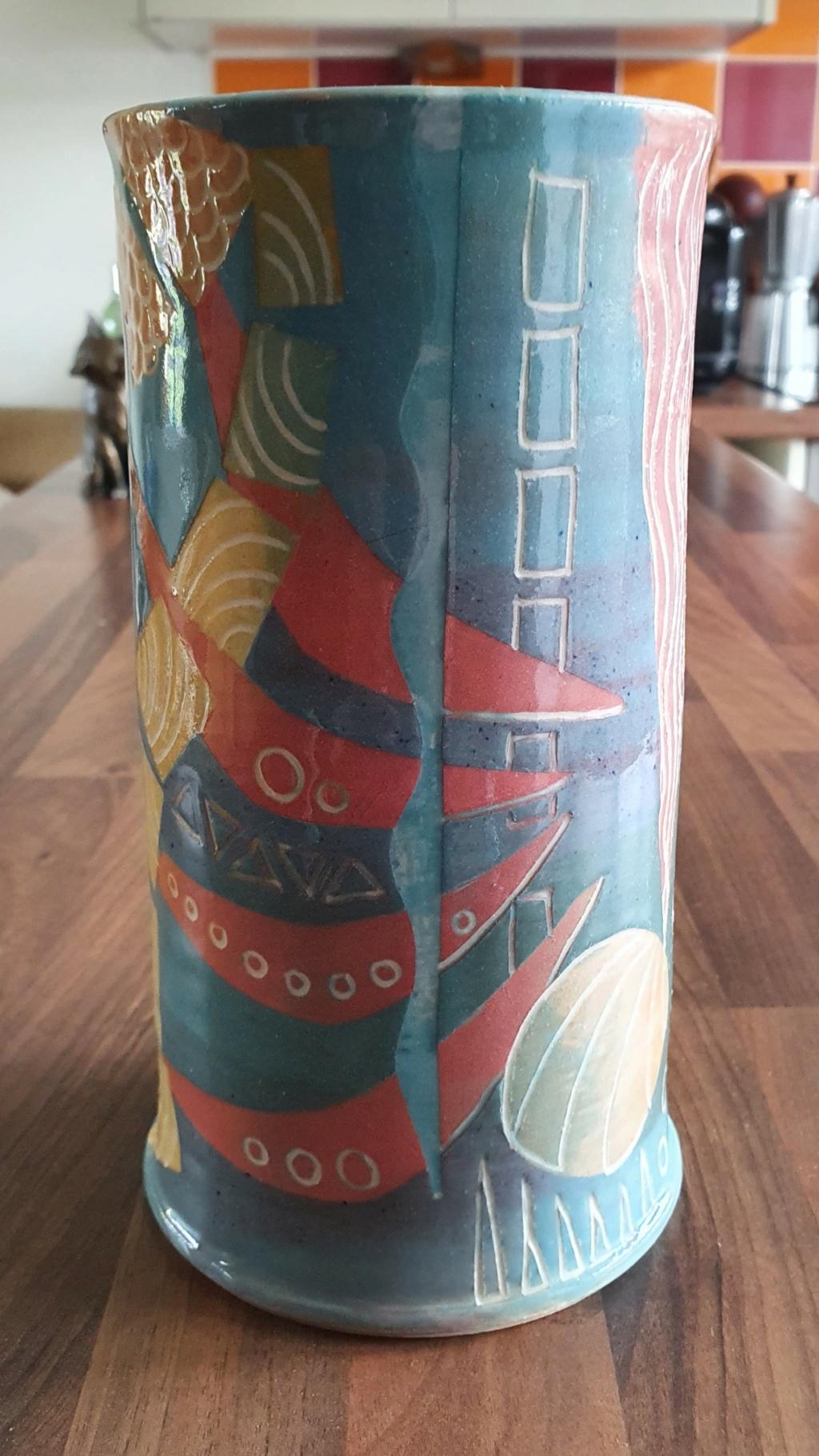 Help ID Studio pottery vase marked JM 20200920
