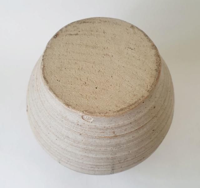 Studio pottery vase ID. AB mark? 20210812