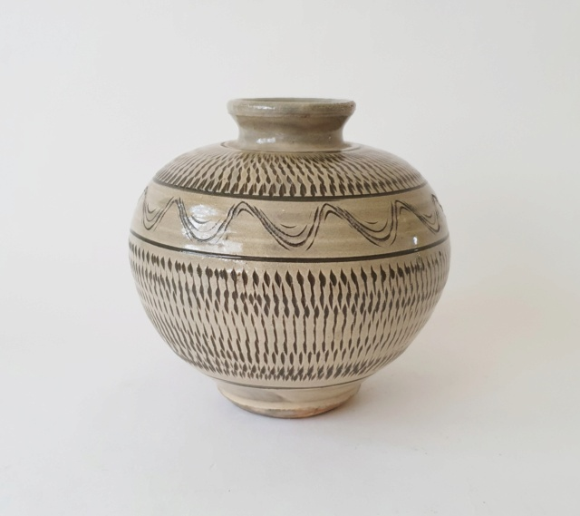 Studio pottery vase ID. Chinese mark? 20210820