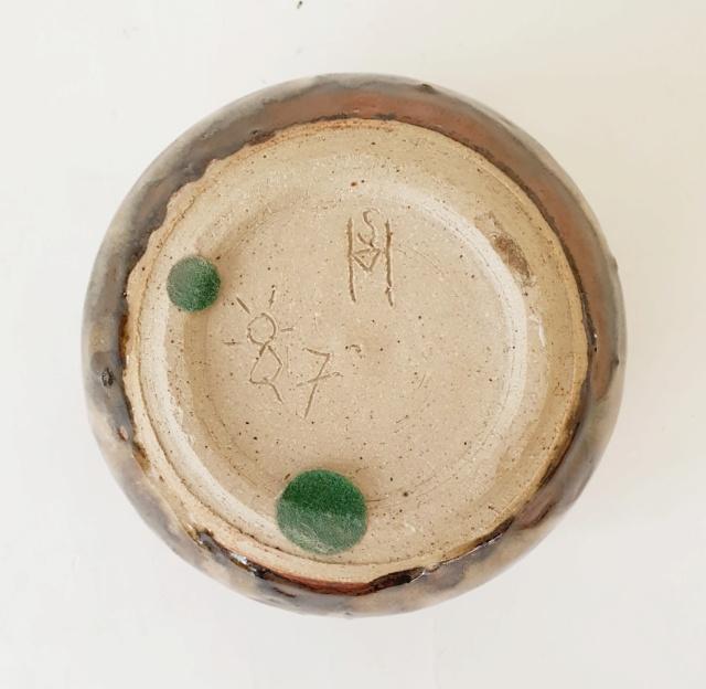 Studio pottery pot ID. SH or SM mark? 20210824