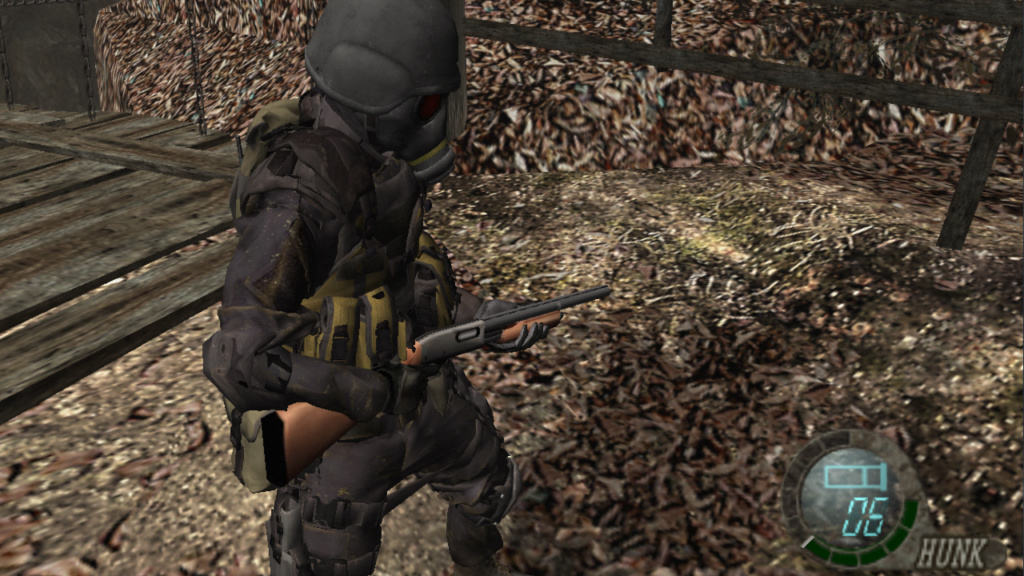 The 4th Survivor RE2 Remake - Hunk por Leon Hunk511